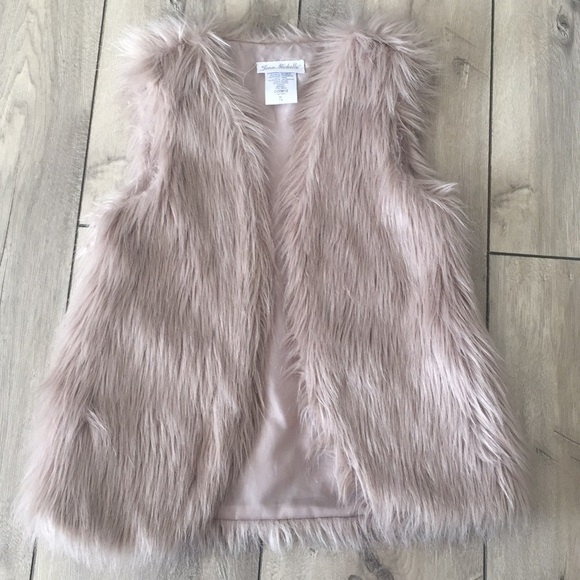 Jona Michelle Jackets Amp Coats Girl Fur Vest Size M 78